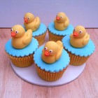rubber duck novelty cupcakes