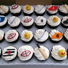 sports themed novelty birthday cupcakes cricket golf rugby football greyhound racing