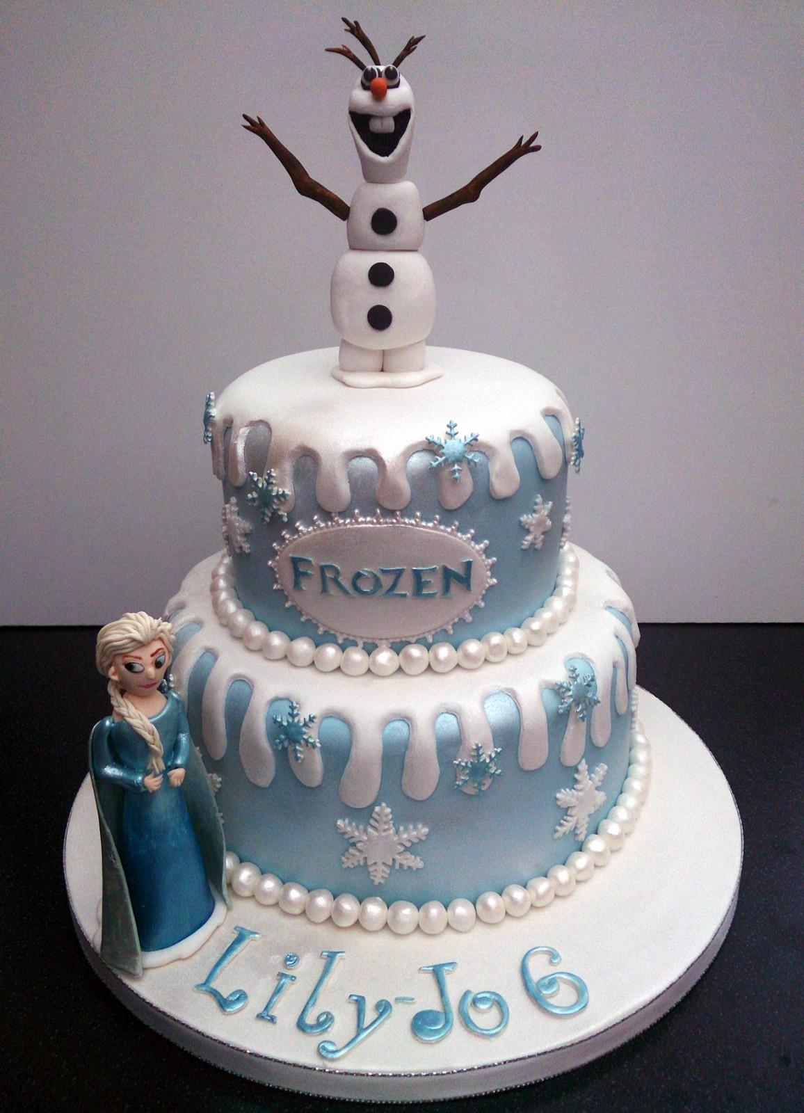 Frozen Disney Themed Cake