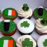 st patrick's day themed novelty cupcakes  thumbnail