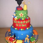 mickey mouse and friends clubhouse 3 tier birthday cake s