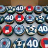 rangers football club themed cupcake tower  thumbnail
