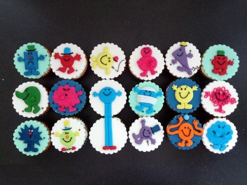 Mr Men Cupcakes