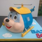 budgie the little helicopter novelty birthday cake