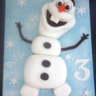 frozen olaf novelty birthday cake