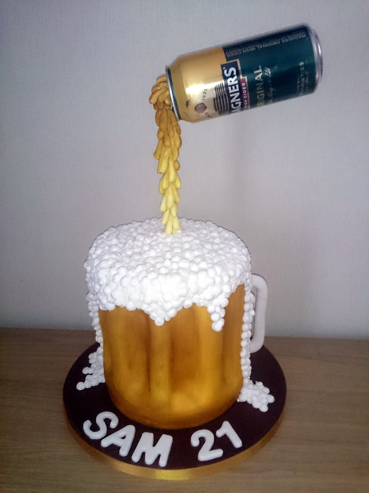 How To Make A Sponge Birthday Cake