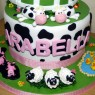 2 Tier Down on the Farm Birthday Cake thumbnail