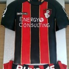 Bournemouth AFC Shirt 2014-15 Cake
