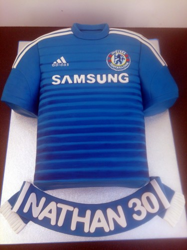 Chelsea Shirt 2014-15 Cake