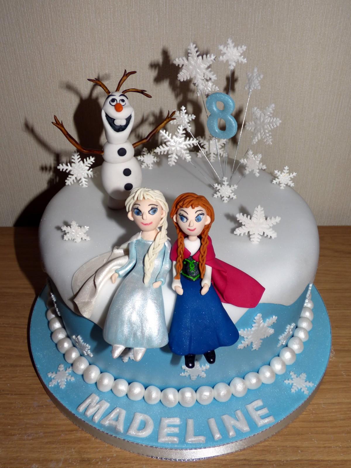 Disney Frozen Birthday Cake « Susie's Cakes