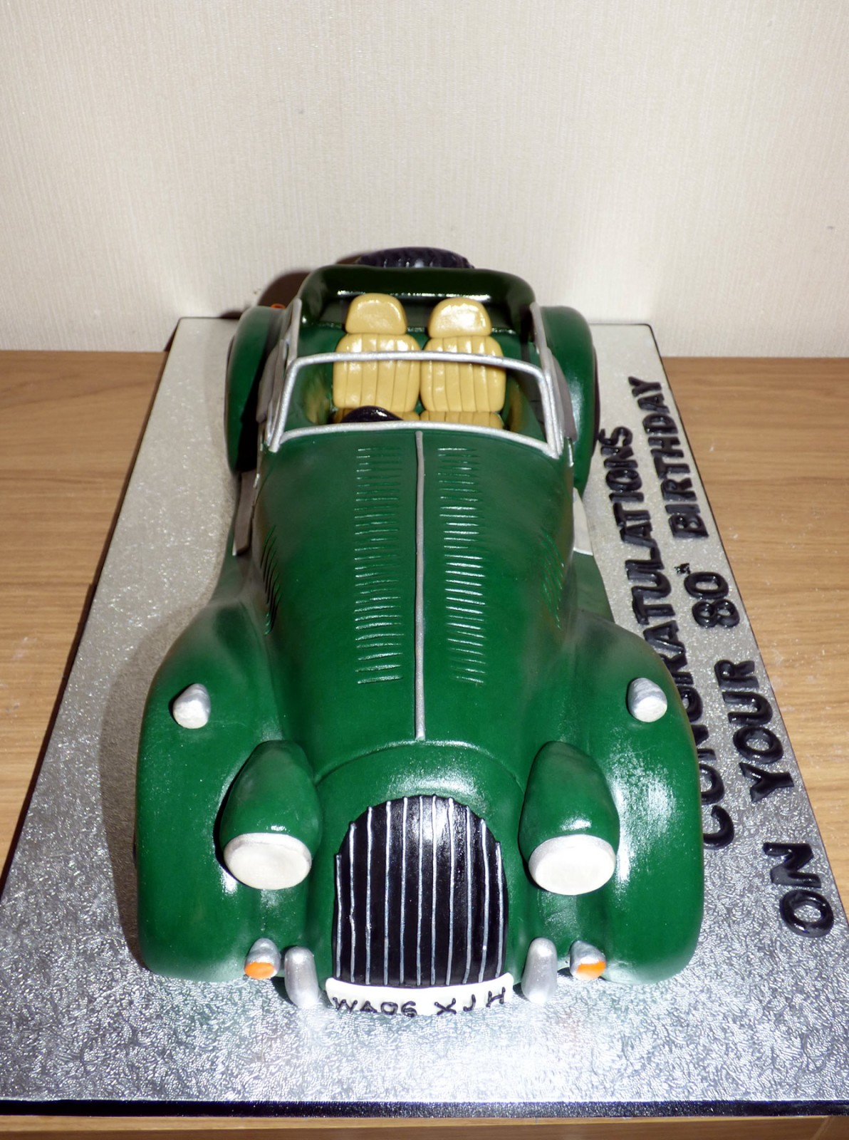 Morgan Sports Car Novelty Birthday Cake Susies Cakes