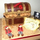 Pirates Treasure Chest Birthday Cake