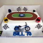 Poole Pirates Themed Birthday Cake