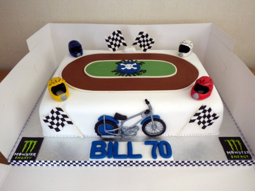 Poole Pirates Themed Birthday Cake