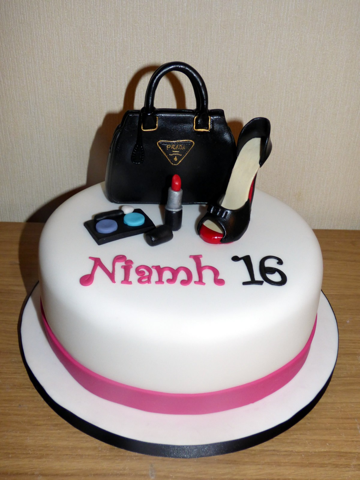 Prada Handbag Shoe And Make Up Birthday Cake Susies Cakes