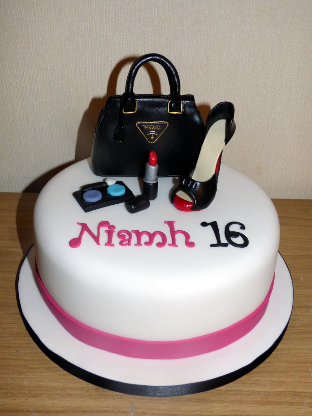 Handbag Shoe Birthday Cakes