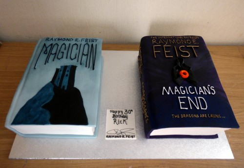 Raymond E Feist Books Birthday Cakes