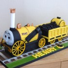Stephen The Rocket Thomas the Tank Engine Friend Birthday Cake