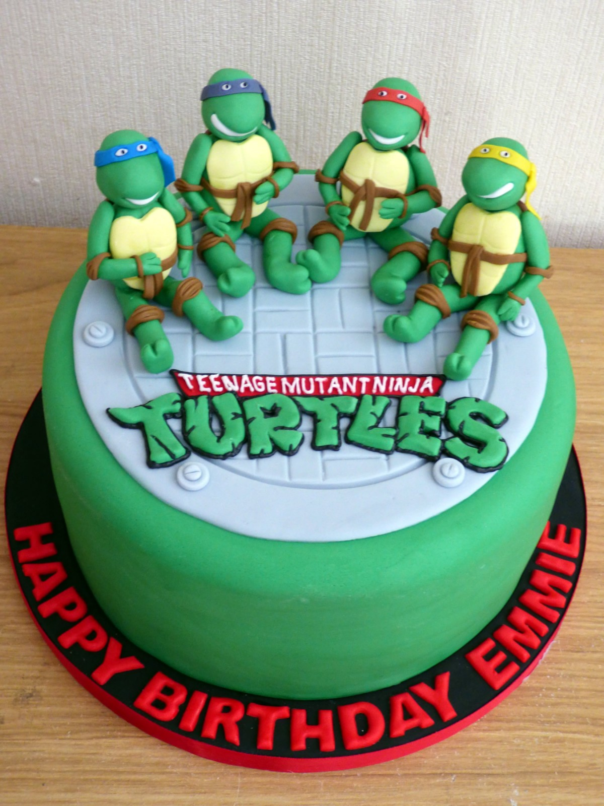 Phenomenal Teenage Mutant Ninja Turtles Novelty Birthday Cake Susies Cakes Funny Birthday Cards Online Fluifree Goldxyz