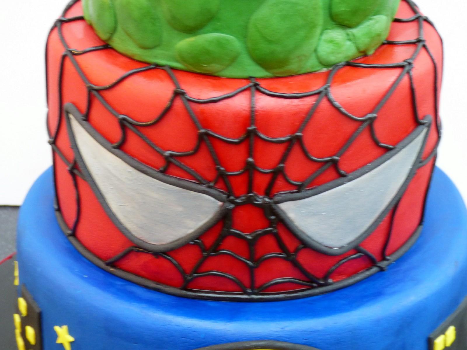 Incredible Marvel Super Heroes Birthday Cake Susies Cakes Personalised Birthday Cards Veneteletsinfo