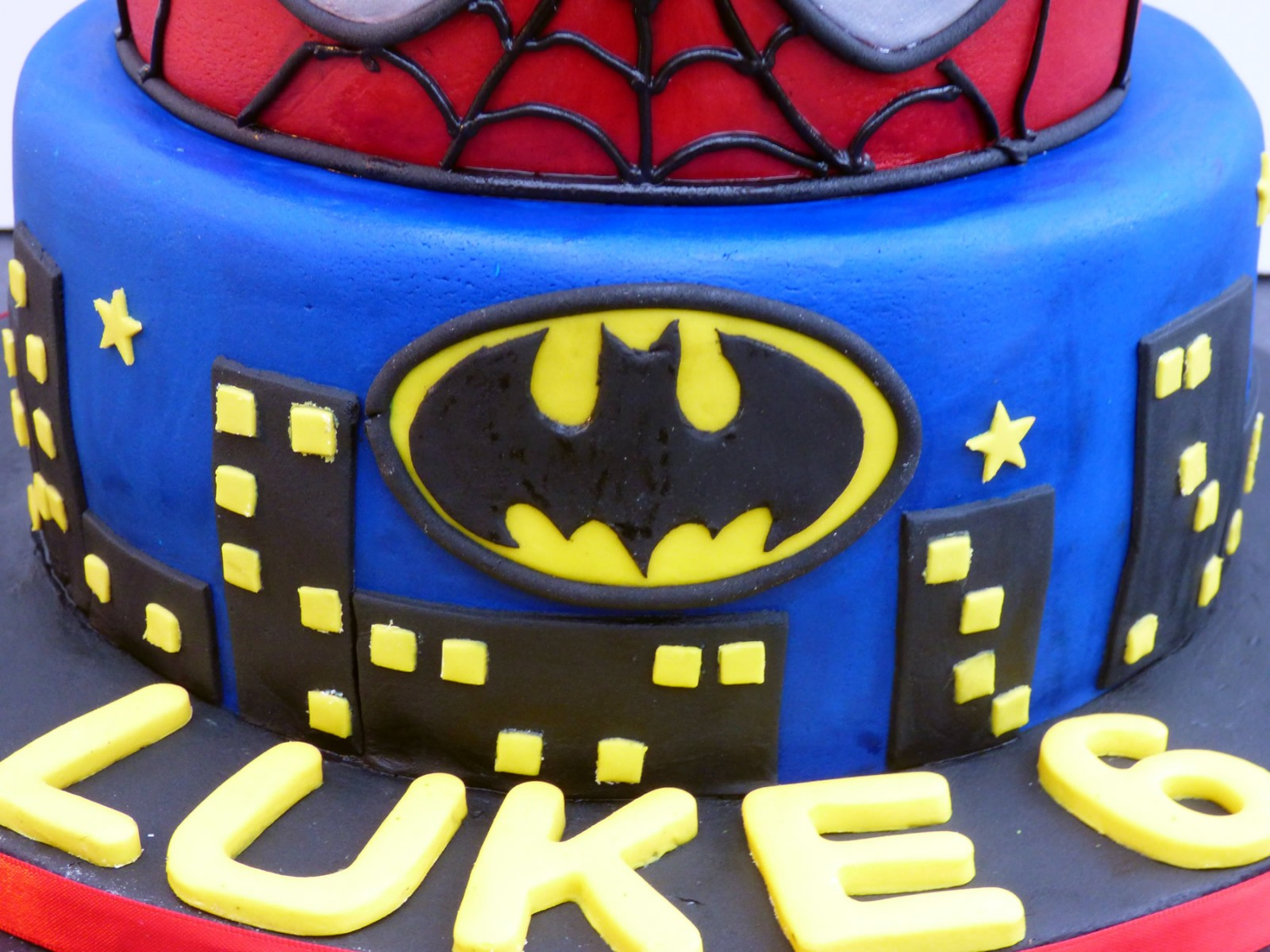 Marvel Super Heroes Birthday Cake Susies Cakes