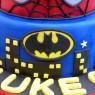 Marvel Super Heroes Cake Batman Spiderman Incredible Hulk  thumbnail
