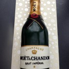 Bottle of bubbly champagne novelty bithday cake