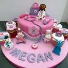 doc mcstuffins characters cake and cupcakes