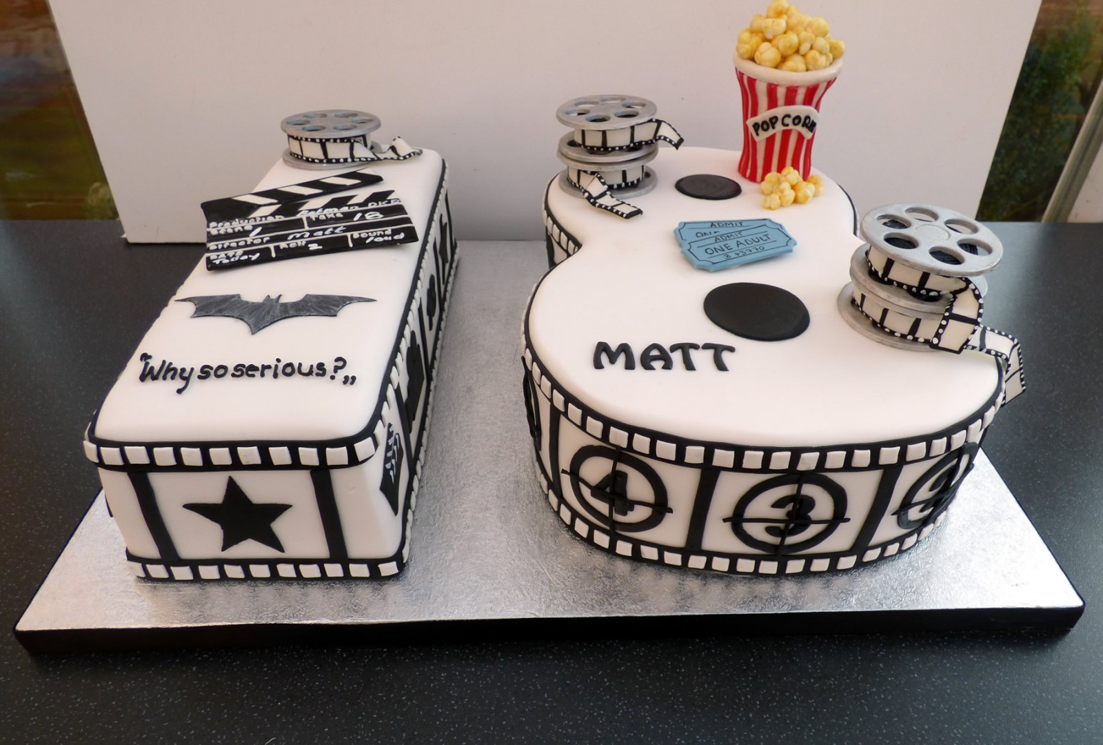 Cinema Themed 18th Birthday Cake 171 Susie S Cakes