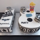 film cinema themed 18th Birthday cake