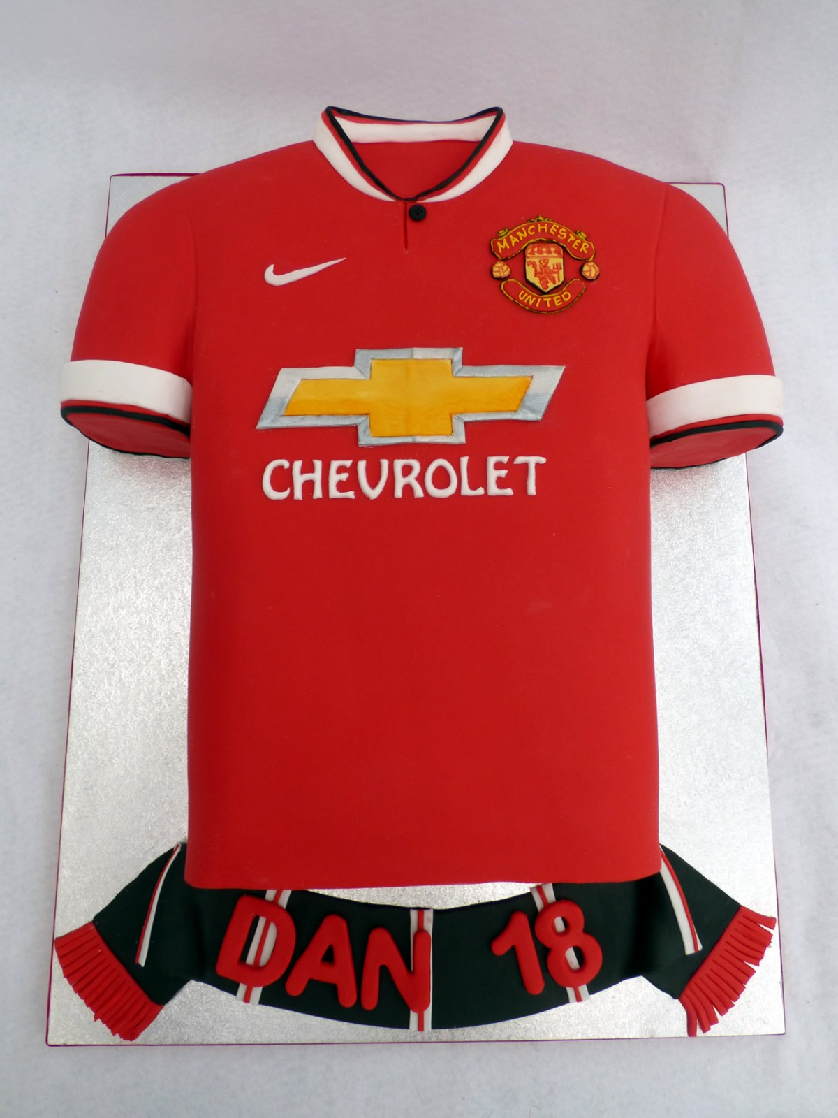 Man Utd 2015 Football Shirt Cake 171 Susie S Cakes
