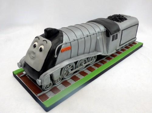 spencer thomas the tank engine train birthday cake