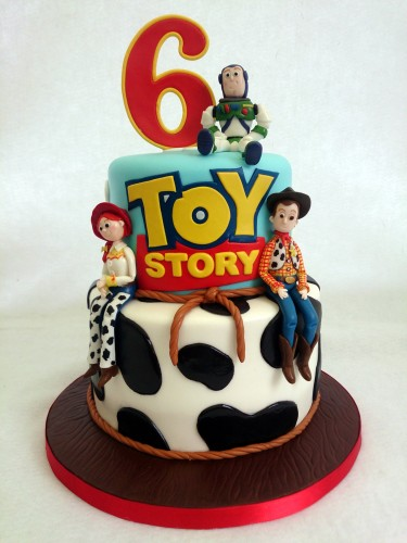 Toy Story Cakes For Boys : Tier toy story cake with woody jess and buzz « susie s