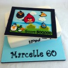 angry birds ipad novelty birthday cake