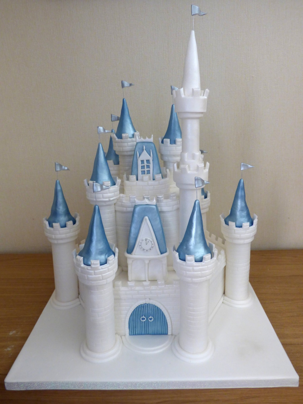 Astonishing Disney Castle Themed Birthday Cake Susies Cakes Funny Birthday Cards Online Alyptdamsfinfo