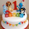 favourite toys 1st birthday cake thumbnail