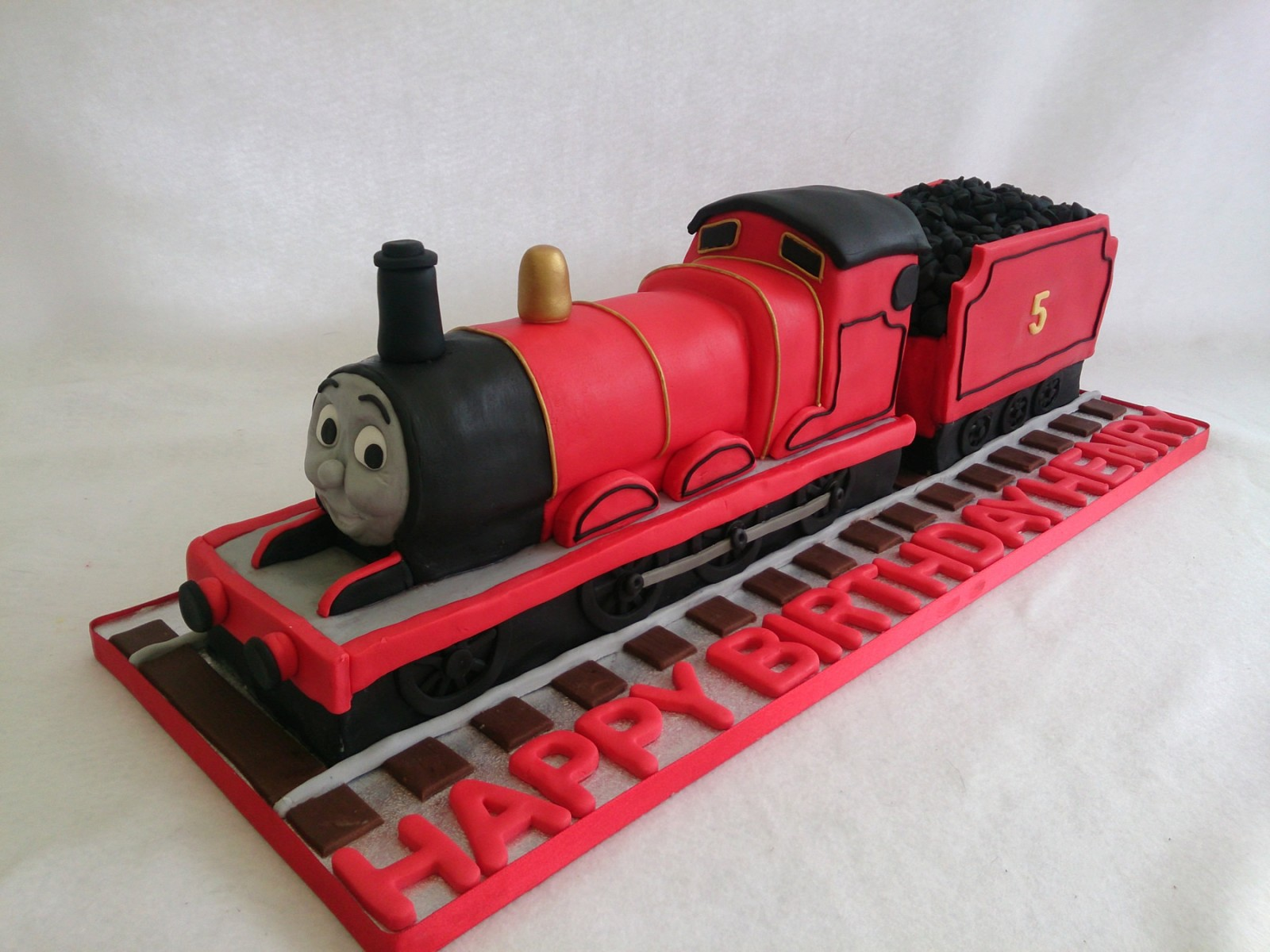 James Tank Engine Birthday Cake