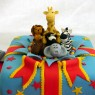 jungle animal present birthday cake thumbnail