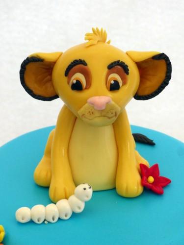 lion king 3 tier birthday
