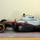 mclaren 2015 F1 racing car birthday cake