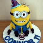 party minion birthday cake