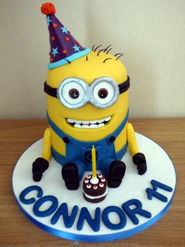 party minion birthday cake