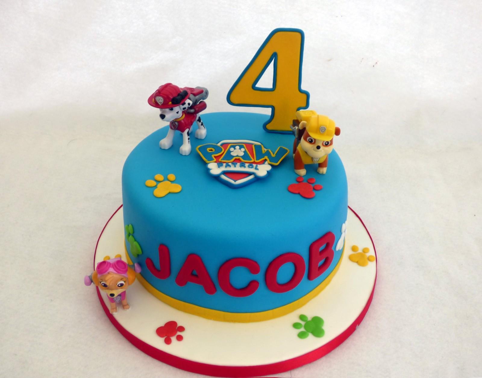 Number  Birthday Cake For Boys
