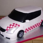 customised suzuki swift birthday cake