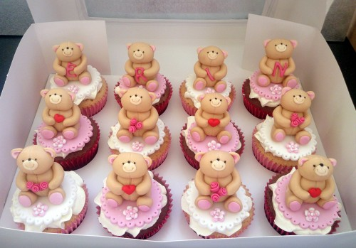 forever friends bears cupcakes