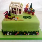 greenhouse gardeners birthday cake