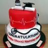 nurses, aduult nursing graduation cake thumbnail