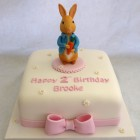 pretty peter rabbit birthday christening cake