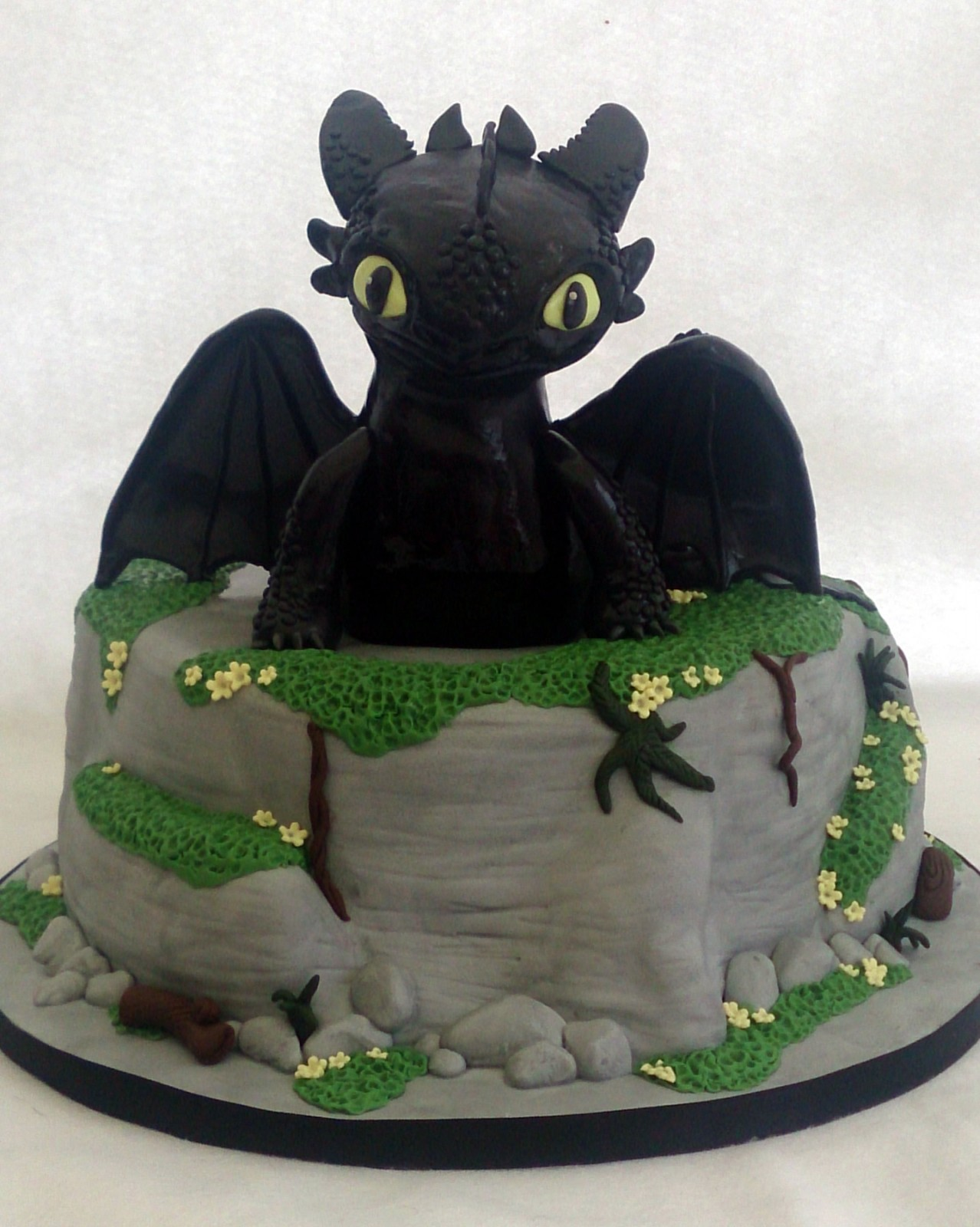 Cake Design Dragon Trainer :  Toothless  The Dragon Birthday Cake   Susie s Cakes