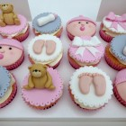 baby shower cupcakes for either boy or girl